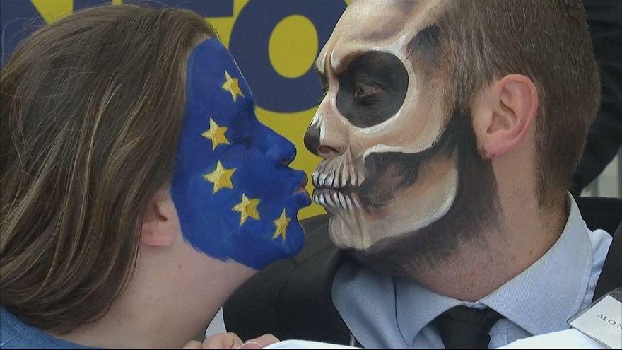Happening contre le glyphosate à Bruxelles
