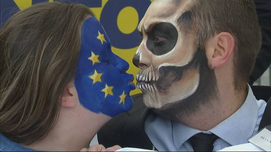 Brüksel'de glifosat protestosu