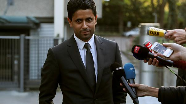 PSG boss questioned over bribery claims by Swiss prosecutors