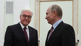 Almanya Cumhurbaşkanı Steinmeier Moskova'da