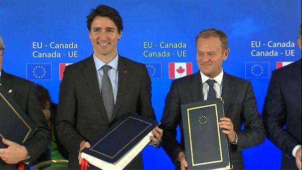 """Francia: accordo CETA """"sotto sorveglianza"""""""