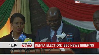 Kenya: Electoral Commission confirms election as Odinga maintains calls for boycott