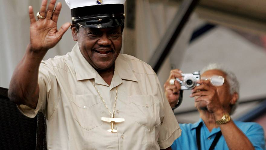 Morreu Fats Domino, pioneiro do rock n'roll