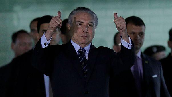 Megvédték a brazil elnököt