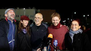 هشت نفر از یازده فعال حقوق بشر زندانی در ترکیه موقتاً آزاد شدند