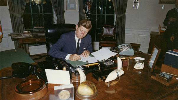 America awaits the release of the JFK papers