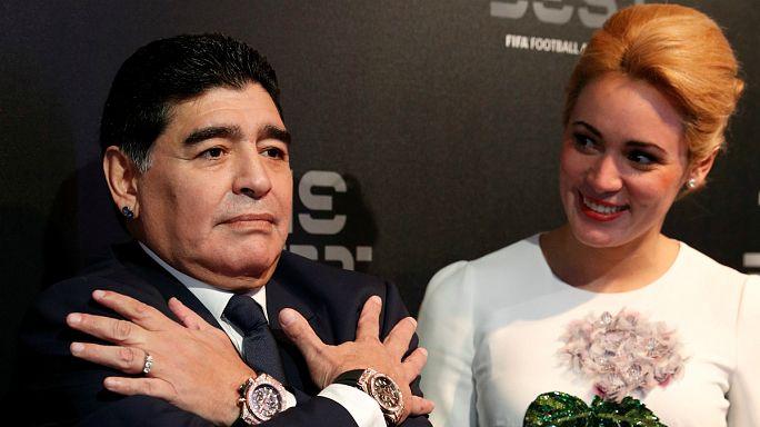 Se celebran 20 años de la retirada oficial de Maradona