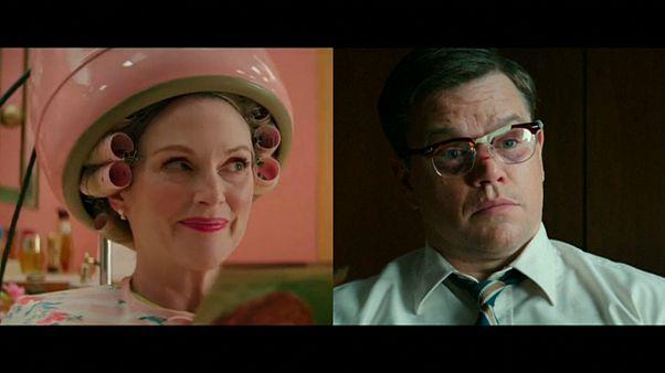جوليان مور ومات ديمون في فيلم لجورج كلوني ينتقد العنصرية