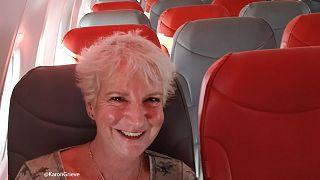 Επιβάτης είχε το αεροπλάνο όλο δικό της σε πτήση από Γλασκώβη προς Κρήτη
