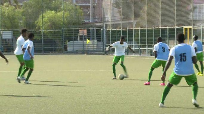 Une équipe de migrants intègre le championnat sicilen
