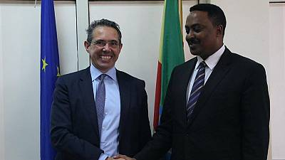 Ethiopia working on solving political discontent – Minister tells E.U. rep