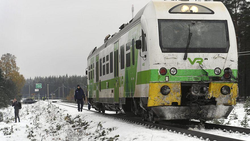 Halálos vasúti baleset Finnországban