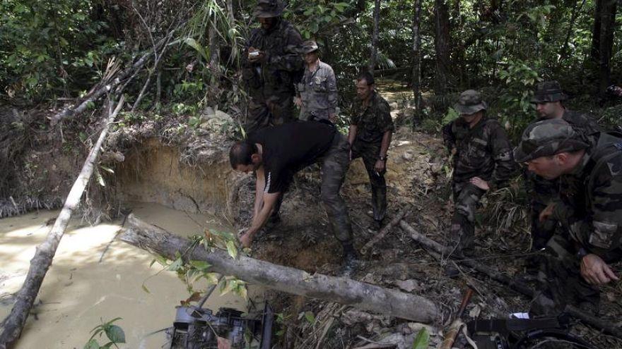 """La """"Montagne d'or"""", projet destructeur pour l'Amazonie. Que dit Macron?"""
