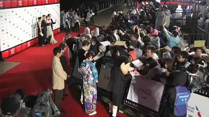 Tokio: Internationales Film Festival eröffnet