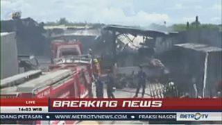 Explosion in Fabrik für Feuerwerk in Indonesien: Mindestens 39 Tote
