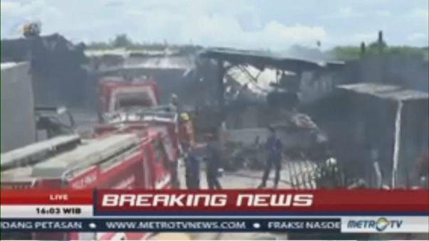 Indonésie : incendie meurtrier à Jakarta