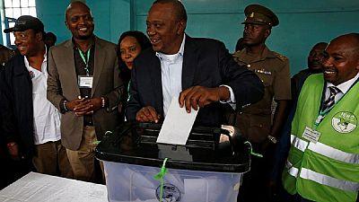 Kenya must shun tribal politics – Kenyatta warns after voting