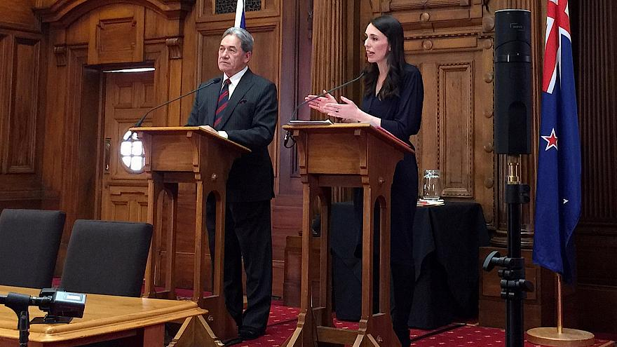 Jacinda Ardern sworn in as new PM of New Zealand
