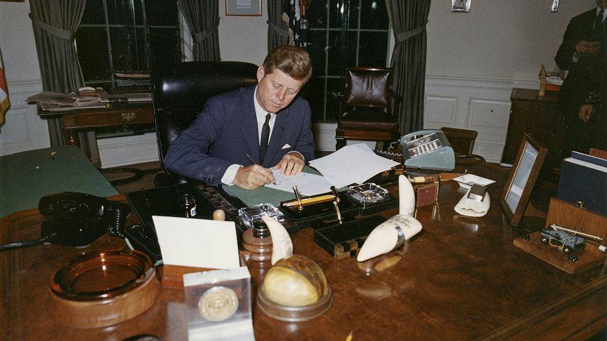 JFK's top-secret assassination files released, minus hundreds Trump ordered to be kept back