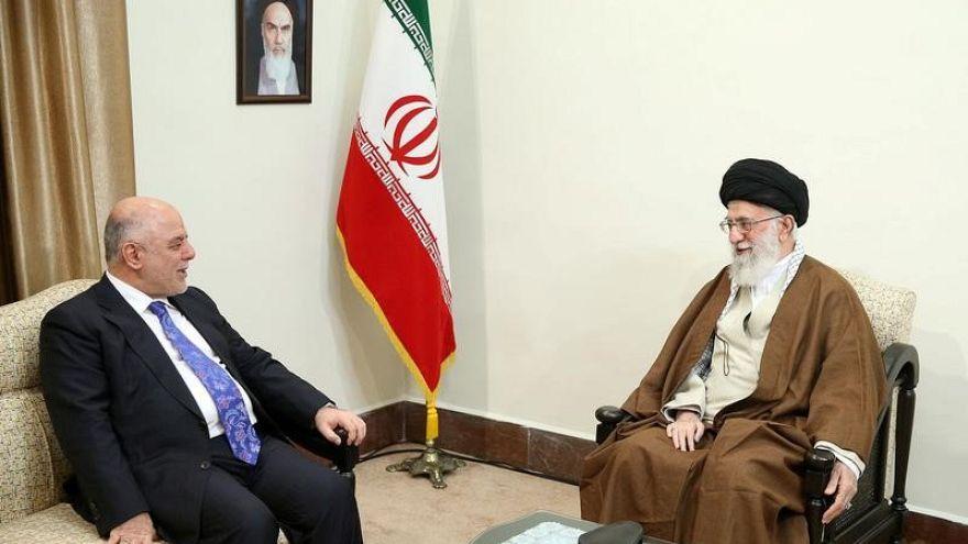 دیدار حیدر عبادی با رهبر و رئیس جمهوری ایران؛ تاکید بر تمامیت ارضی عراق
