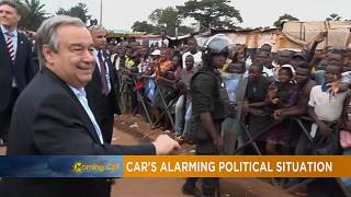 Guterres warns against religious divide in CAR [The Morning Call]