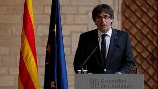 رئیس جداییطلب کاتالونیا نگران از مداخله مادرید: انتخابات زودهنگام برگزار نمیکنیم