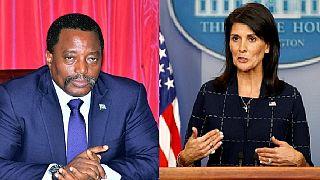 RDC : Nikki Haley arrive à Goma sur fond de manifestations contre le régime de Joseph Kabila