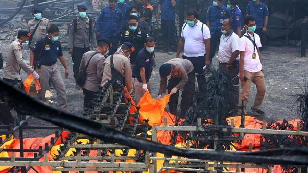 مقتل 47 شخصا إثر إنفجار مصنع للألعاب النارية في إندونيسيا