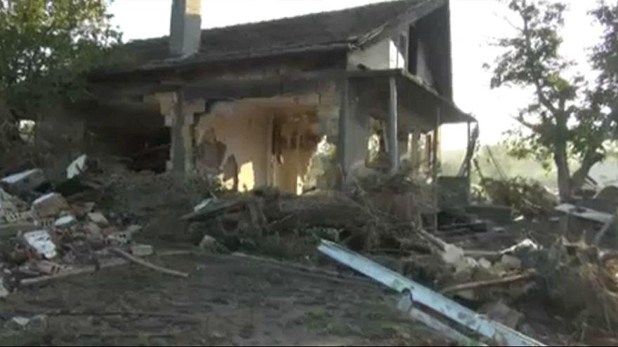 Türkiye sınırında sel felaketi