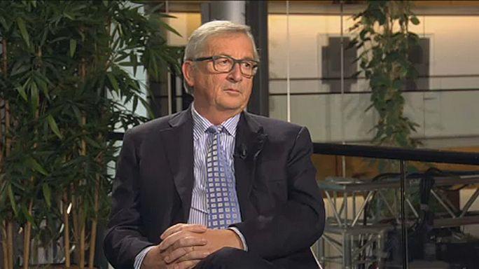 """Jean-Claude Juncker à RTP: """"Catalães não estão a ser oprimidos pela Espanha"""""""