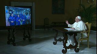 Папа Римский пообщался с космосом