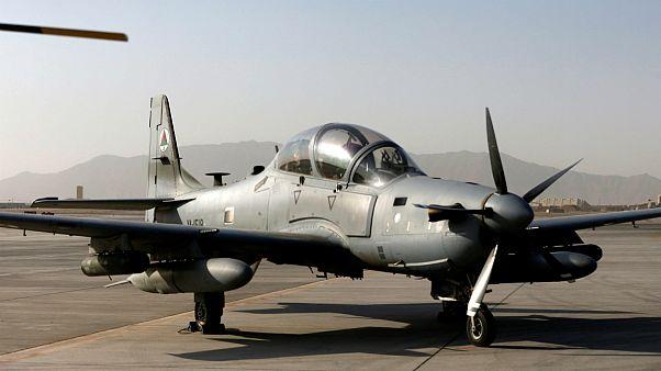 آمریکا شش هواپیمای نظامی دیگر در اختیار افغانستان می گذارد