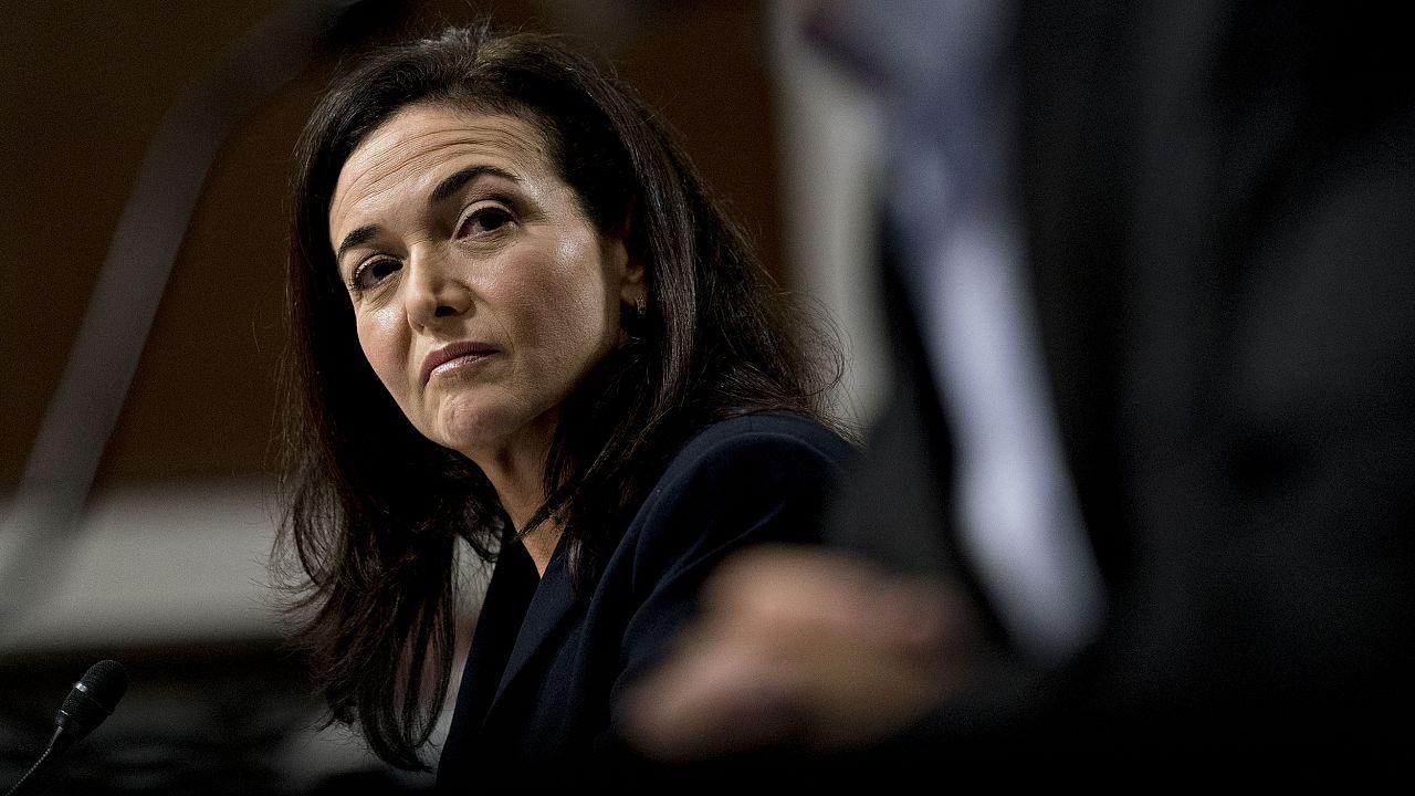 Twitter CEO Dorsey And Facebook COO Sandberg Testify Before Senate Intellig