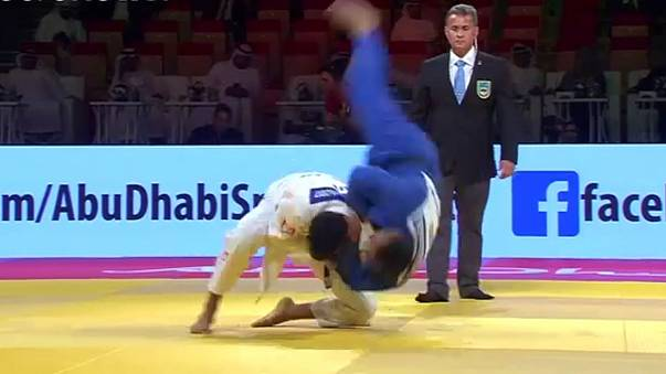 Charline Van Snick as good as gold at Abu Dhabi Judo Grand Slam