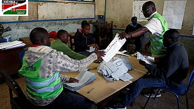 Voter turnout in Kenya's marred presidential election rerun pegged at 34%
