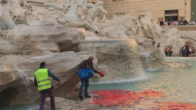 Art attacks demean Rome's cultural heritage says city's curator
