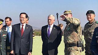 ماتيس من المنطقة منزوعة السلاح بين الكوريتين: الحرب ليست هدفنا