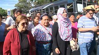 Mulheres vencedoras de Nobel protestam contra exploração mineira na Guatemala