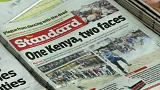 Low turnout in Kenya election boycotted by opposition