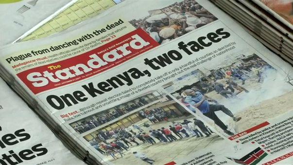 Kenya'da muhaliflerin boykot ettiği seçimlerde katılım az