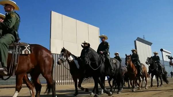 EUA testam protótipos de muro na fronteira com México