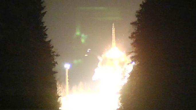 Rússia testa míssil intercontinental