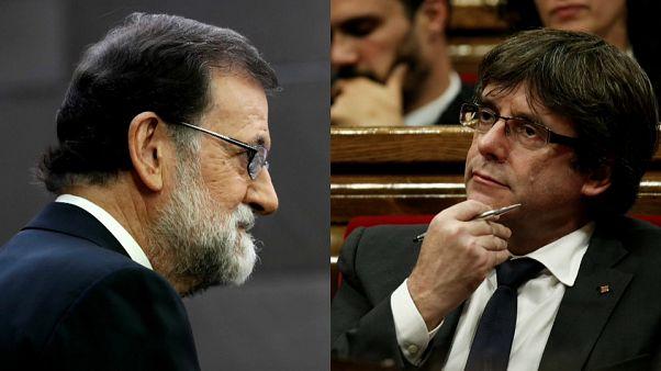 İspanya Meclisi Katalonya hükümetinin yetkilerini askıya aldı