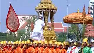 La crémation fastueuse de l'ancien roi de Thaïlande