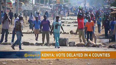 Violence, boycott mar Kenya's rerun [The Morning Call]