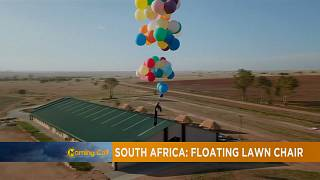 '100 balloons man flight' over Johannesburg [The Morning Call]