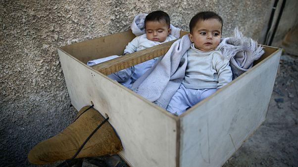 سایه قحطی بر سر کودکان سوریه