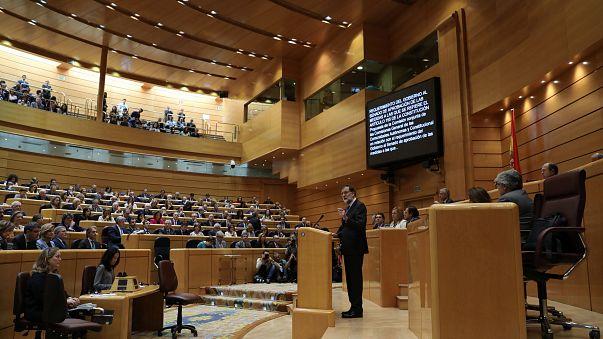 El Senado español da luz verde al artículo 155