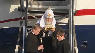 Romániába látogatott Kirill pátriárka