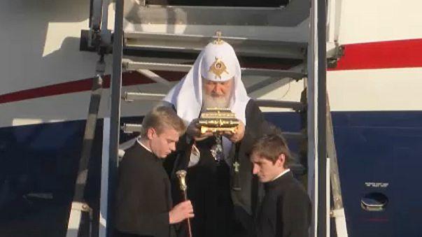 Patriarca ortodoxo russo visita Roménia